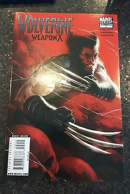 Wolverine Weapon X #2 variant cover