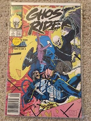 GHOST RIDER #5 (Marvel 1990) Jim Lee Cover  VF+ Cond!