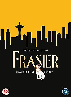 "FRASIER - THE COMPLETE SERIES SEASONS 1-11  DVD BOX SET 44 DISCS ""Clearance"""