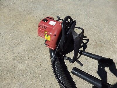 AS NEW 30cc Backpack Leaf Blower Petrol Garden Commercial Yard Outdoor