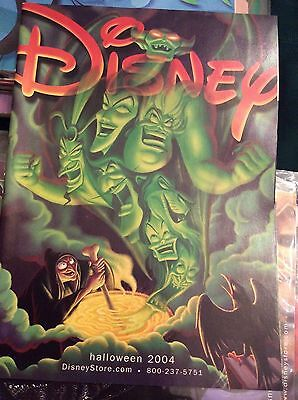 Disney catalog, Villians -Vintage Halloween cover-2004