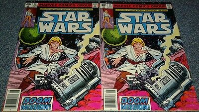 (2) ISSUES ..Star Wars #26 (Aug 1979, Marvel) VF OR BETTER....DOOM MISSION!!!