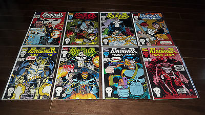 The Punisher: War Zone #1 #2 #3 #4 #5 #6 #7 #8 (1992, Marvel) NM