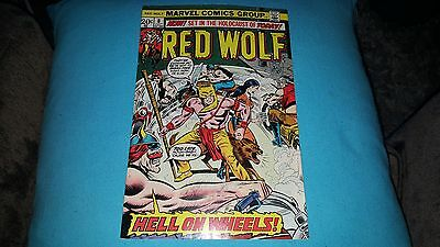 Red Wolf #8 (Jul 1973, Marvel) VF+