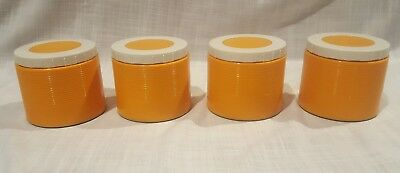 Thermos Jar Container Vintage Orange King-Seeley Model 1155 Insulated Food Soup