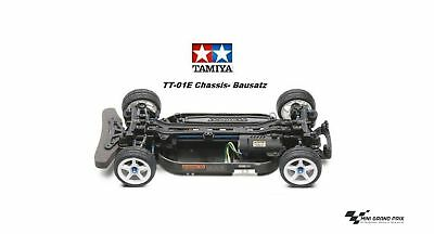 Tamiya RC 1:10 TT-01E Just Chassis, Kit Without Controller and Bodywork