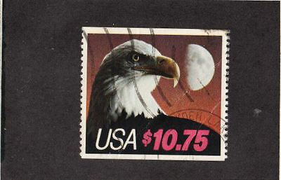 1985 Used Express Mail $10.75 Eagle over Moon #2122