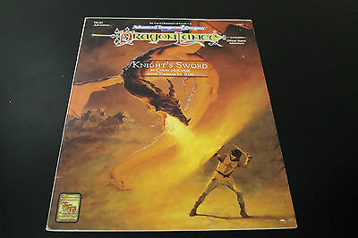 Knight's Sword (TSR, 1992) AD&D / DragonLance / Dungeons and Dragons