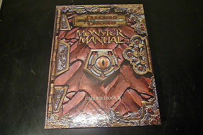 Monster Manual Core Rulebook III (WOTC, 2000) Dungeons and Dragons 3rd Edition