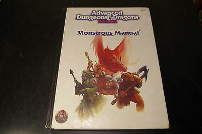 Monstrous Manual (TSR, 1993) Dungeons and Dragons 2nd Edition 2140