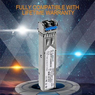 C-light 1.25Gbps Compatible 1000BASE-LX/LH SFP 1310nm 20km SFP Transceiver DU