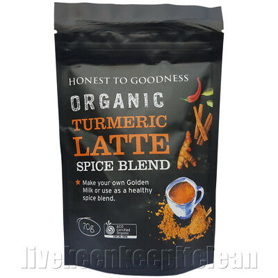 Honest To Goodness - Organic Turmeric Latte Spice Blend