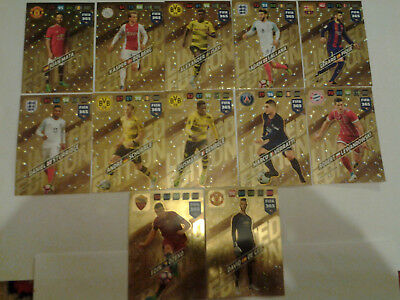 Panini Adrenalyn XL FIFA 365 2017/2018 Rare Limited Edition Cards