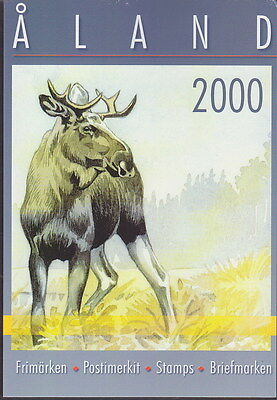 Aland Finland Official Complete Year Set 2000 MNH **