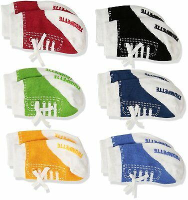 Trumpette Baby Boys Sock Set-6 Pairs Johnnys - Assorted Colors 0-12 Months