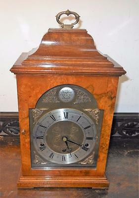 burr walnut ELLIOT westminster whittington bracket clock