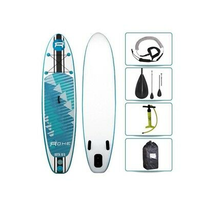 ROHE Pack Stand Up Paddle Gonflable Oota 106/320cm x 30x 6 Avec Pagaie, Pompe et