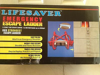 4 Rope Ladder Emergency Work Safety Response Fire Rescue Rock Climbing Escape