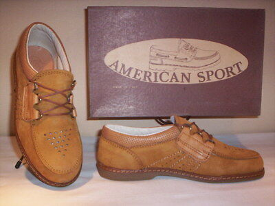 Sports shoes sneakers vintage American Sport baby baby shoe brown 30 34