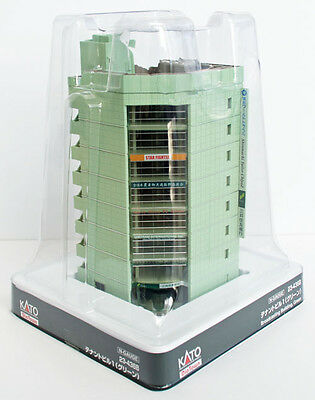 Kato 23-436B Broadcasting Building (Shopping Center) Green (N scale)
