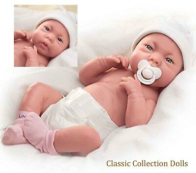 "Ashton Drake ""A LOVELY GIFT IS LITTLE LAUREN"" LIFELIKE BABY GIRL DOLL-NEW"