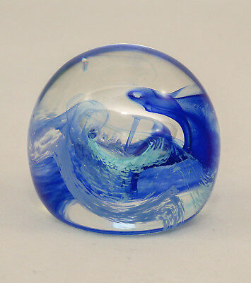 Caithness Moon Crystal Paperweight