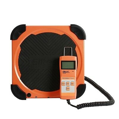 Electronic Digital Weighing Scale for Refrigerants HVAC LMC-200 Elitech kg oz lb