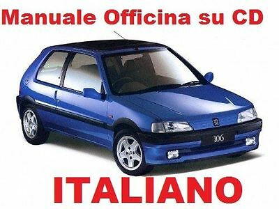 PEUGEOT 106 (1991/2004) Manuale Officina ITALIANO SU CD Rallye