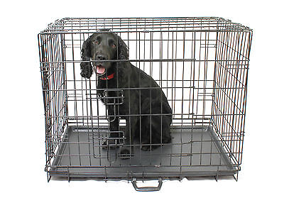 Metal Dog Cage / Crate _ brand new flat packed_free shipping