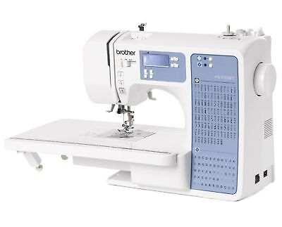 Brother FS100WT Free Motion Electric Embroidery Sewing Quilting Machine White