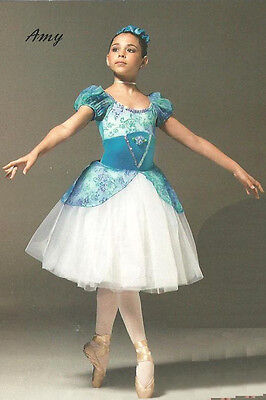 Amy Dance Costume Romantic Ballet Tutu Princess Dress Halloween Adult X-Large