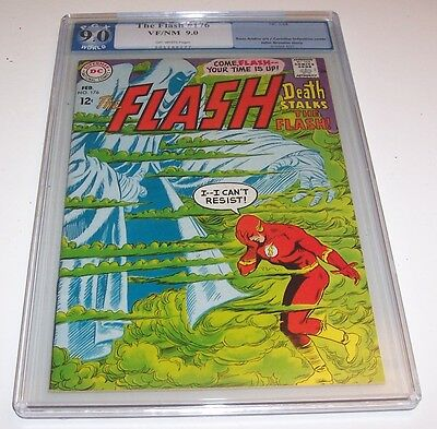 The Flash #176 - DC VF/NM 9.0 Silver Age Flash