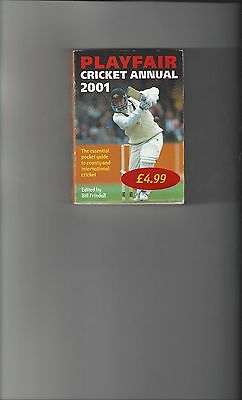 Playfair Cricket Annual 2001