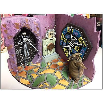 HANDMADE NIGHTMARE BEFORE CHRISTMAS SET - Lock Stock and Barrel in the Treehouse