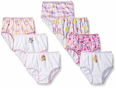 Nickelodeon Girls Bubble Guppies Underwear Panties 7pack 2T/3T