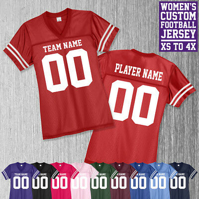 Women's Custom Football Jersey //// Personalized Jersey //// Pop Warner ////