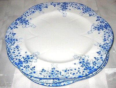 Shelley - Dainty Blue - Dinner Plates (3)