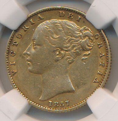 Great Britain GOLD Sovereign 1857 - NGC XF 40