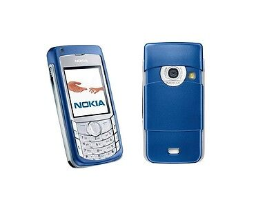 ☆ NOKIA 6681 in Electric Blue ☆ Handy Dummy Attrappe ☆ Not real mobile phone! ☆
