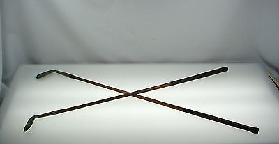 Vintage Hickory Shaft Golf Clubs Wilson Niblick Special  / Sovereign Mid Iron