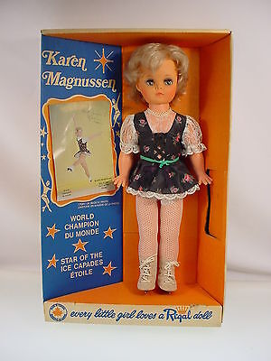 Regal Doll Canada Karen Magnussen Doll 72 Olympic Figure Skating In Box