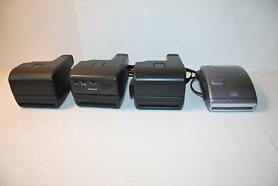 4 Polaroid Instant Cameras One Step, One Step Close Up, & Talking, One Euc