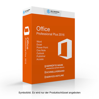 Microsoft Office 2016 Professional Plus Sonderposten