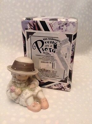 Enesco Mib Pretty As A Picture #284564 Thinking Of You Brings Sweet