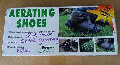 GREENKEY Aerating Shoes - 100% Recycled Plastic Shoes - New & Improved Buckle