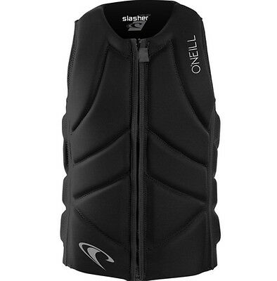 O'neill slasher comp vest wakeboard watersports impact jacket black XS S M