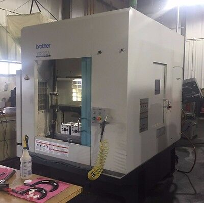 """2000 Brother TC-32A 17"""" x 12"""" x 16"""" Drilling & Tapping Center"""