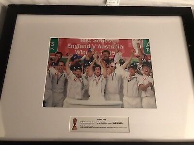andrew flintoff signed Wicket Ashes Tour 2009