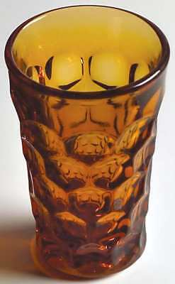 Imperial Glass Ohio PROVINCIAL AMBER Juice Glass 6949198