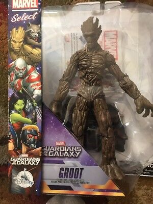 Disney Store Exclusive Groot Guardians Of The Galaxy Marvel Diamond Select